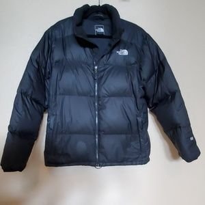 NORTH FACE Men's black down jacket